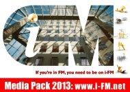 Download our latest Media Pack - i-FM.net