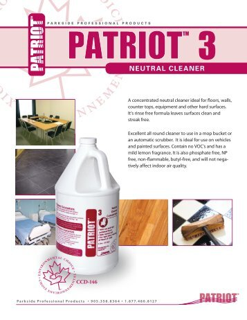 Patriot 3.pdf - Flexo Products Ltd.