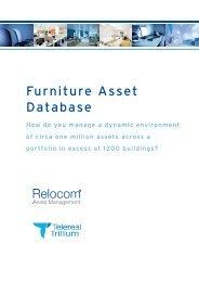 Furniture Asset Database, Relocom - i-FM.net