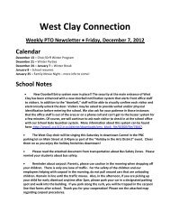 PTO Newsletter - Carmel Clay Schools
