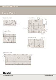 Meeting & Events Floorplans - Thistle Hotels