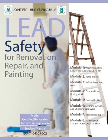 Student Manual - Lead Safe Inspections & Consulting, Inc.