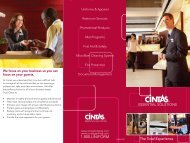 Overall Business Solutions - Cintas