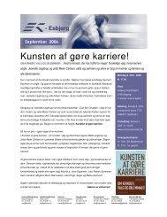 EK Nyt September 2006.pdf - Foreningen af Erhvervskvinder