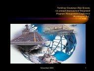 Northrop Grumman Ship Systems - Evmlibrary.org