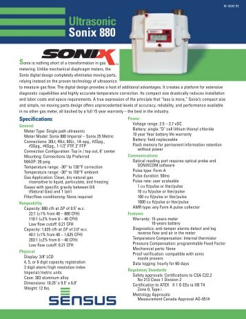 Dresser Roots Model 5 Prover Specifications The Meter