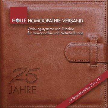 NEU! - Homöopathie-Versand Gisela  Holle