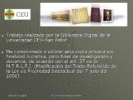 la enseanza de la arquitectura como proyecto - DSpace CEU
