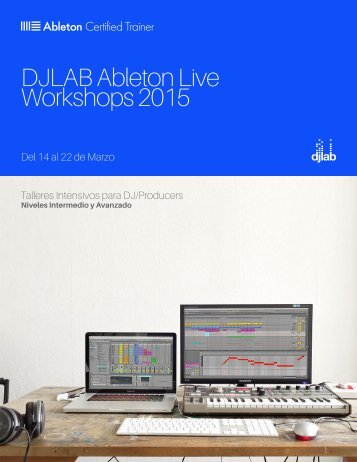 DJLAB Ableton Live Workshops 2015