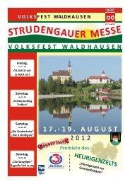 Messezeitung 2012 - Strudengauer Messe