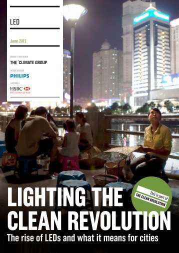 The rise of LEDs and what it means for cities - The Clean Revolution