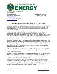 SR-2012-02 - US Department of Energy Savannah River Operations ...