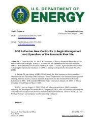 SR-08-02 - US Department of Energy Savannah River Operations ...