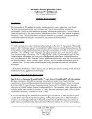 Saltstone Permit Report Website User's Guide - US Department of ...