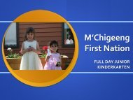 M'Chigeeng First Nation - Chiefs of Ontario