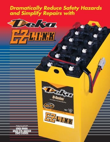 0630 (EZ Link) - Industrial Battery Products