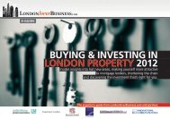 buying & investing in london property 2012 - London Loves Business