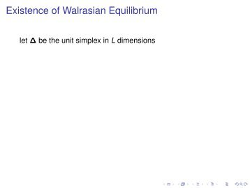 Proving the Existence of Walrasian Equilibrium