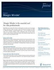 Margin Minder® - Salient