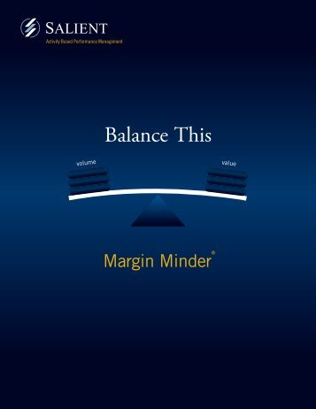 Margin Minder Brochure - Salient