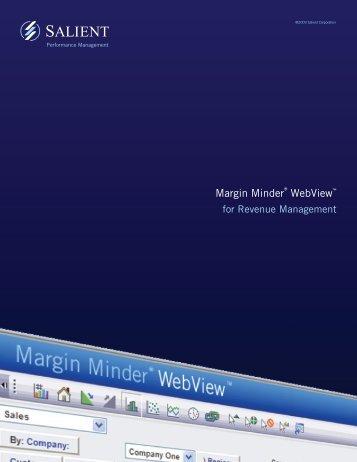 Margin Minder® WebView™ - Salient
