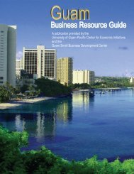 Guam Business Resource Guide
