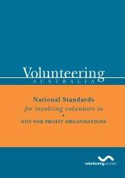 The National Standards - Volunteering Australia