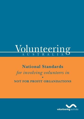 The National Standards - Volunteering Australia