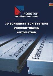 Gesamtkatalog DEUTSCH (5,34 MB) - Förster Welding Systems