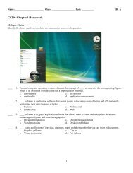 ExamView - Chap3-Hwk-and-Solutions.tst