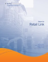 Salient for Retail Link
