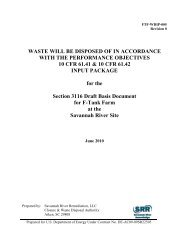 WASTE WILL BE DISPOSED OF IN ACCORDANCE WITH THE ...