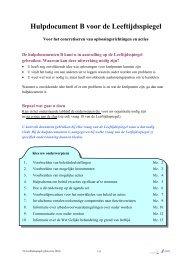 Leeftijdsspiegel bijlage B - Werkgoesting Uhasselt