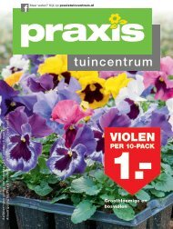 Praxis tuincentrum folder