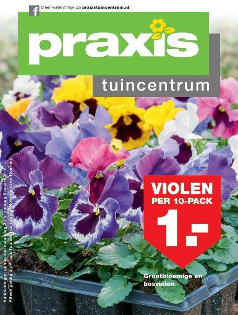 Praxis Tuin Heerlen.Praxis Tuincentrum Folder