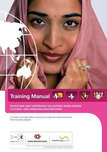 Training Manual - Volunteering Australia