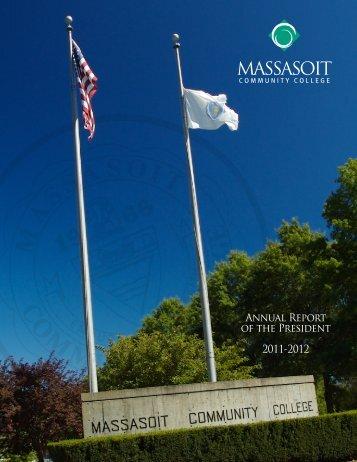 View the 2011-2012 Annual Report - Massasoit Community College