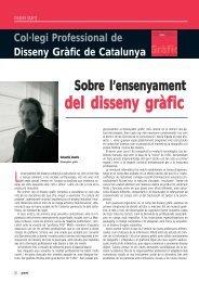del disseny gràfic - Gremi d'Indústries Gràfiques de Catalunya