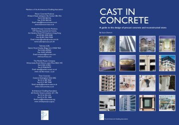 Cast in Concrete - British Precast