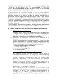 informe del segundo encuentro de coordinadores de comisiones ...