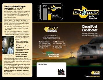 Diesel Fuel Conditioner - Diesel Services