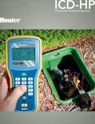ICD Decoder Handheld Programmer - Hunter Industries