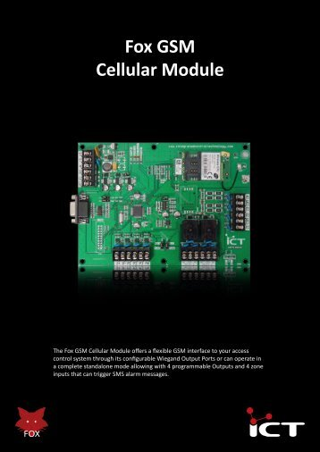 Fox GSM Cellular Module - ICT