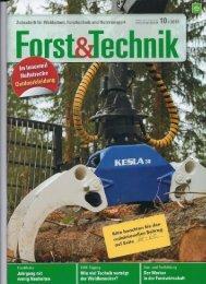 Forst & Technik Oktober 2012 - Miller Fahrzeugbau