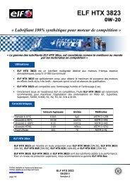 ELF HTX 3823 FR - ELF Compétition