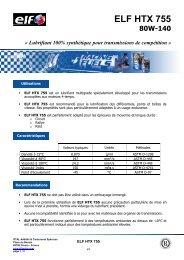 ELF HTX 755 FR
