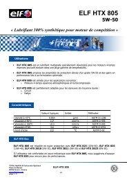 ELF HTX 805 FR