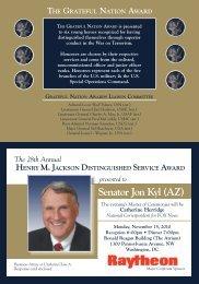 Senator Jon Kyl (AZ) - JINSA