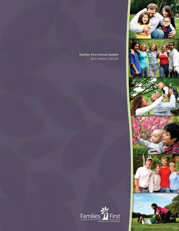 2010 Annual Report - Families First Parenting Programs