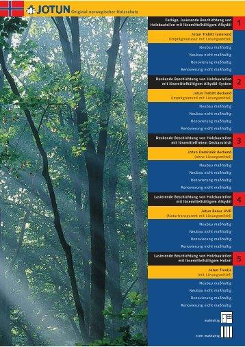 Inhalt 1 2 3 4 5 - Jotun Holzschutz